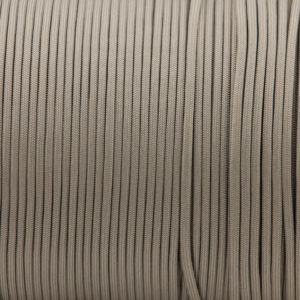 Gray 4mm Paracord for sale 100% Nylon its lightweight & Strong