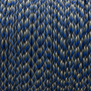Blue Camo Paracord for sale 100% Nylon its lightweight & Strong