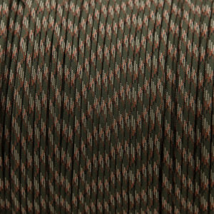 Army Green 4mm Paracord for sale 100% Nylon its lightweight & Strong