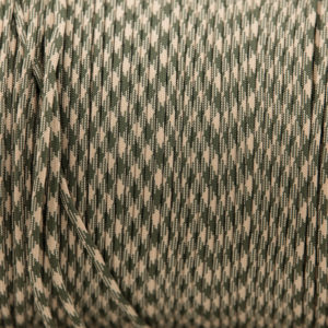 Camoflage 4mm Paracord for sale 100% Nylon its lightweight & Strong