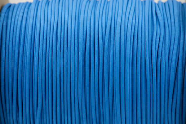 Colonial Blue Paracord for sale 100% Nylon Made in the USA