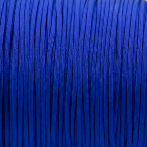 Electric Blue Paracord for sale 100% Nylon Made in the USA