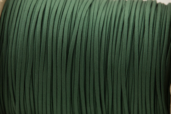 Emerald Green Paracord for sale 100% Nylon Made in the USA