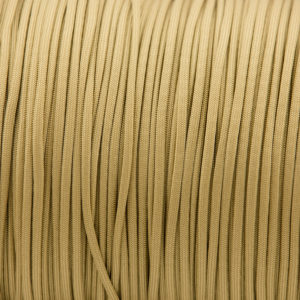 Gold 4mm Paracord for sale 100% Nylon its lightweight & Strong