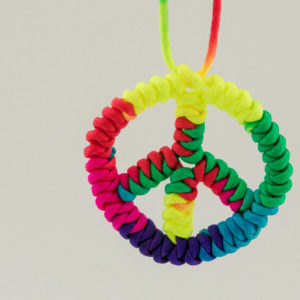 Paracord Peace Symbol