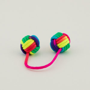 Large Begleri bead with chime ball
