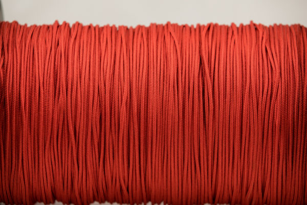 Imperial Red 2mm 325 Paracord 100% Nylon, Strong Lightweight