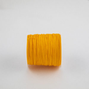 Yellow .75mm Polypropylene Microcord strong and lightweight