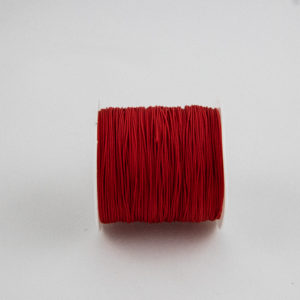 Red .75mm Polypropylene Microcord strong and lightweight