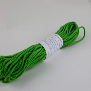 Green 4mm Cotton Rope 100% cotton and of the highest quality