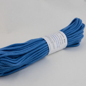 Light Blue 6mm Cotton Rope 100% cotton of the highest quality