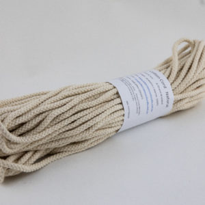 Natural 6mm Cotton Rope 100% cotton and of the highest quality