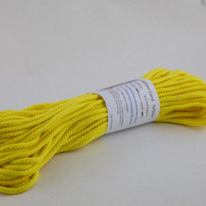 Yellow 6mm Cotton Rope 100% cotton and of the highest quality