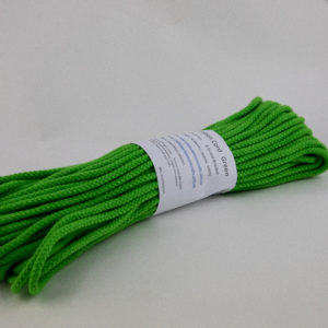 Green 6mm Cotton Rope 100% cotton and of the highest quality