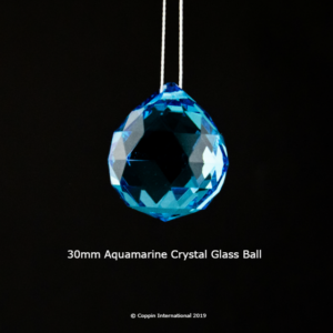 Aquamarine Crystal Glass Ball 100% high Quallity Glass Crystal