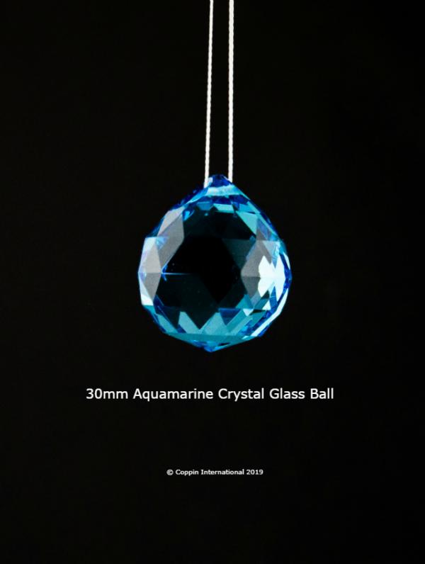 Aquamarine Crystal Glass Ball 100% high Quallity Glass Crystal
