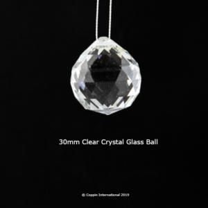 Clear Crystal Glass Ball. 100% K9 high Quallity Glass Crystal