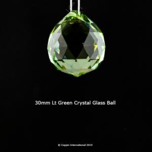 Light Green Crystal Glass Ball. high Quallity Glass Crystal