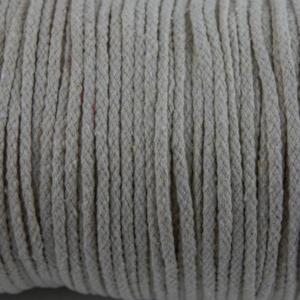 Beige Cotton Rope 5mm 100% cotton and of reasonable quality