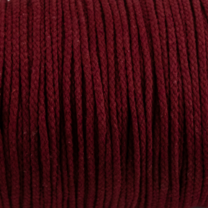 Deep Red Cotton Rope 5mm 100% cotton and reasonable quality