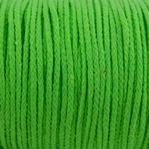 Fruit Green Cotton Rope 5mm 100% cotton and reasonable quality