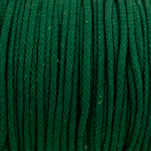Green Cotton Rope 5mm 100% cotton and of reasonable quality