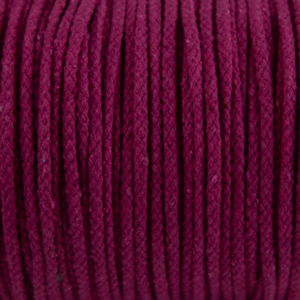 Mei Red Cotton Rope 5mm 100% cotton and of reasonable quality