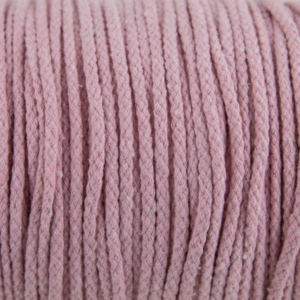 Pink Cotton Rope 5mm 100% cotton and of reasonable quality