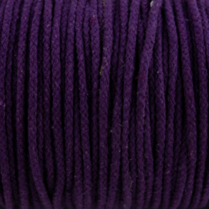 Purple Cotton Rope 5mm 100% cotton and of reasonable quality