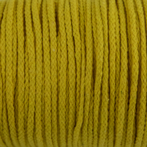 Yellow Cotton Rope 5mm 100% cotton and of reasonable quality