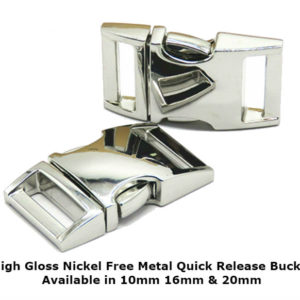 High Gloss Metal Quick release Buckle
