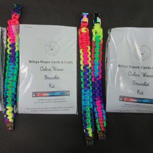 DIY Cobra Weave Bracelet Kits