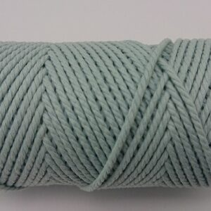 Light Cyan 2mm Cotton cord 100% cotton and of the highest quality