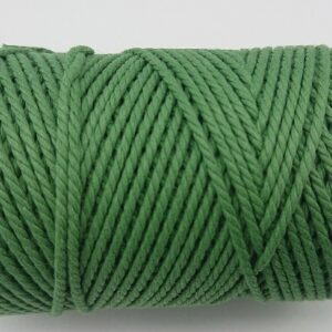 Onion Green 2mm Cotton cord 100% cotton and of the highest quality
