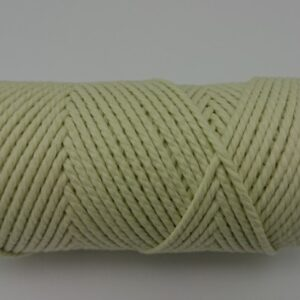 Pale Lemon 2mm Cotton cord 100% cotton and of the highest quality
