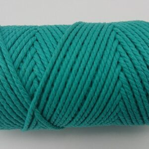 Turquoise 2mm Cotton Cord 100% cotton and of the highest quality