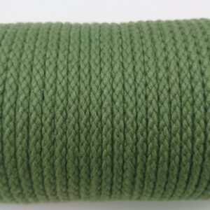 Forest Green 4mm Cotton Rope 100% cotton of the highest quality