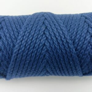 Navy Blue 4mm Cotton Rope 100% cotton of the highest quality