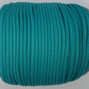Turquoise 4mm Cotton Rope 100% cotton of the highest quality