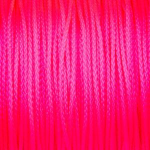 Neon Pink Micro 90 Cord100% Nylon made in the USA